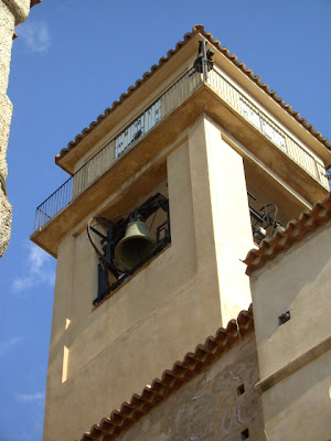 bell tower, calabria, southern italy