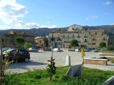 Piazza Castello, Badolato, Calabria, Italy