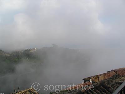 fog in calabria