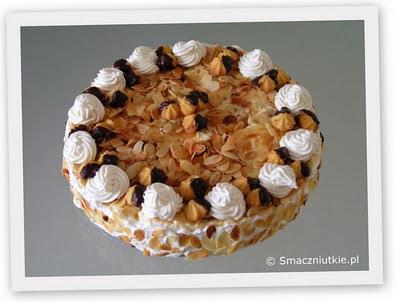 Tort Malakoff - winny tort urodzinowy