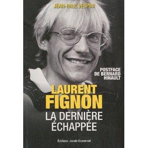 livre Laurent Fignon, la dernière échappée