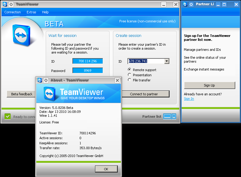 team viewer  linux