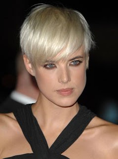 Agyness Deyn Pixie Hairstyle on Hairstyles For Black Women Ids One Side