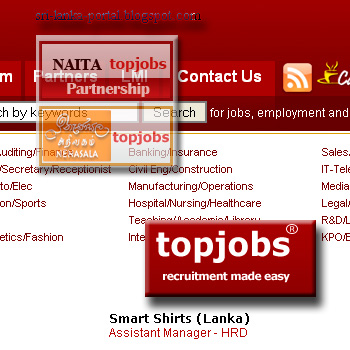 sri lanka job sites