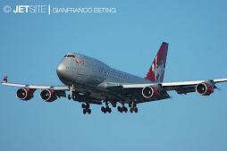 747-400 Virgin