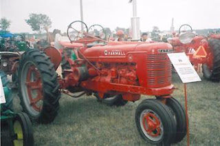 1943 Farmall H tractor just like the one Grandpa drove thousands of hours