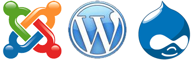 joomla drupal wordpress cms blogging open source platforms