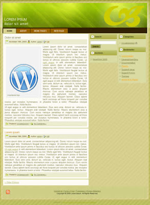 3 column wordpress theme