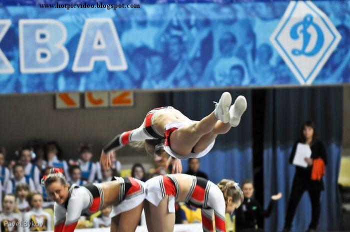 Wallpaper Desktop Grils Russian Cheerleaders