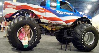 mobil terbaik Big foot USA