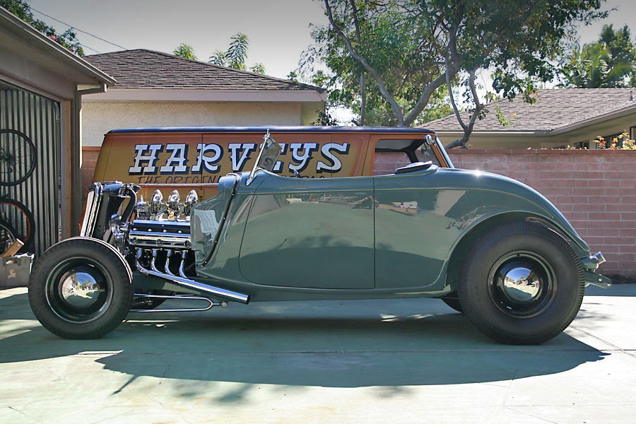 LOWTECH | traditional hot rods and customs : dana harvey\'s 1933 roadster