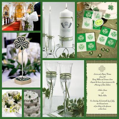 Wedding Themes for March April Irish Wedding