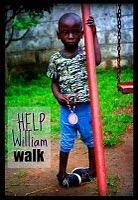 Help William walk!