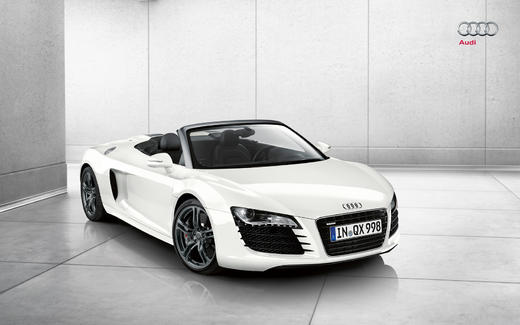 2010 audi r8 4 2 spyder specs features and price details. Black Bedroom Furniture Sets. Home Design Ideas