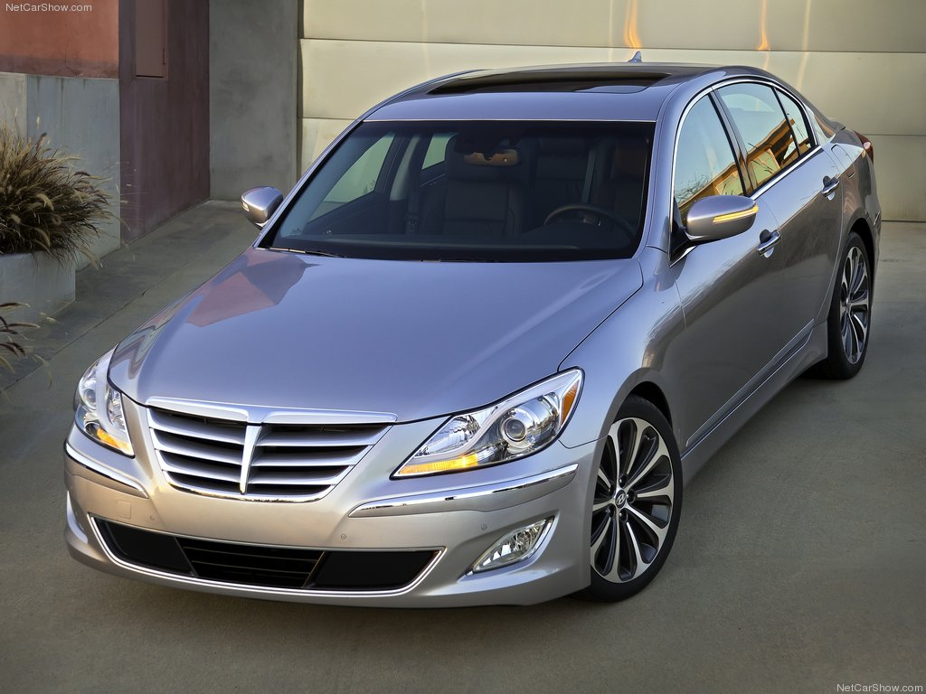 2012 Hyundai Genesis Gallery Pictures Wallpapers Car