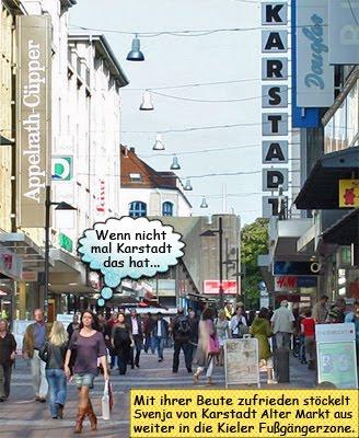 Schließung Karstadt Kiel Filiale Alter Markt