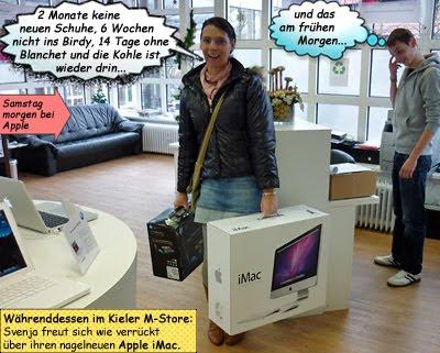 Svenjas neuer Apple iMac