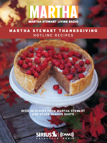 Martha stewart thanksgiving recipes