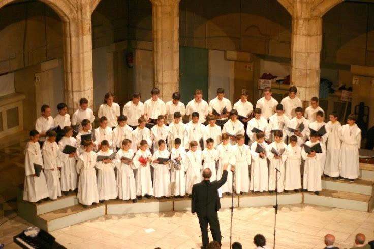9. Escolanía de la catedral de Burgos.