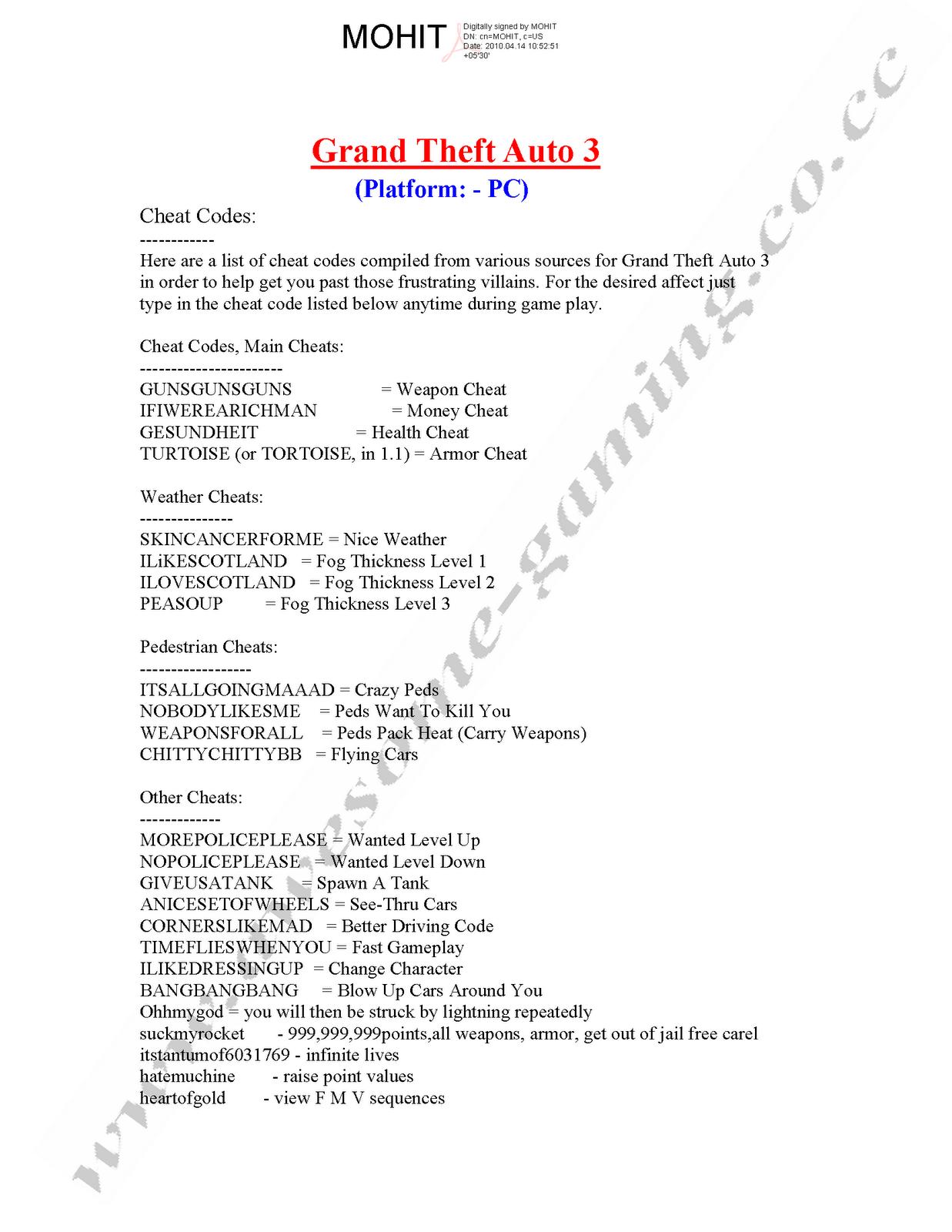 grand theft auto 3 cheat codes xbox 360