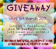 GIVE AWAY!! just name ur prizes!!