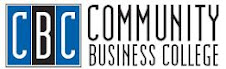 Community Business College Main Website (Click Logo)