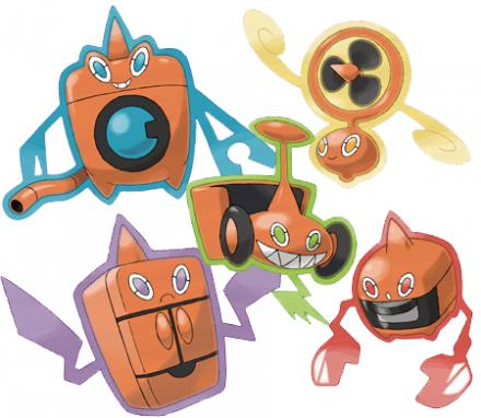 Cuarta Generacion Pokemon | Pokemon Rotom