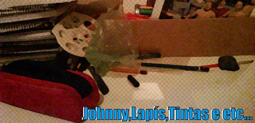 Johnny Lapis,  Tintas e Etc......