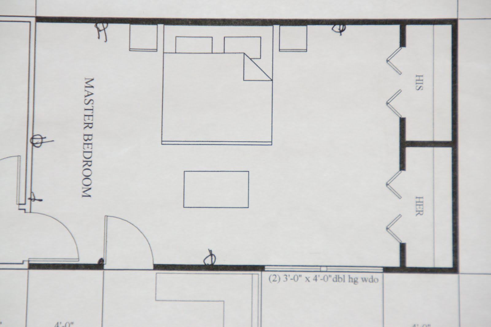 What 39 s new with the serranos master bedroom addition plans for Addition floor plans