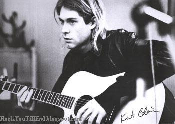 Kurt playing Guitar