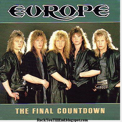 Europe album final countdown