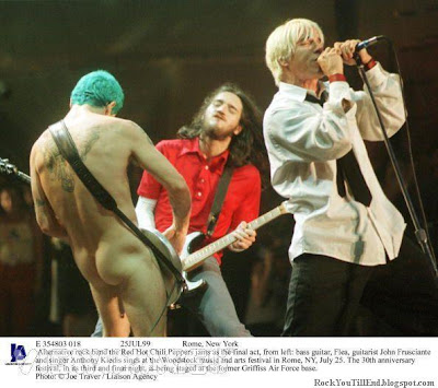 Naked Flea Red Hot Chili Peppers