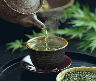Anti Aging Treatments -hot Green tea