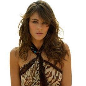 Elizabeth Hurley chemical peel