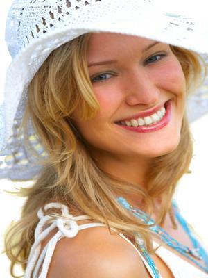Anti aging skin care woman
