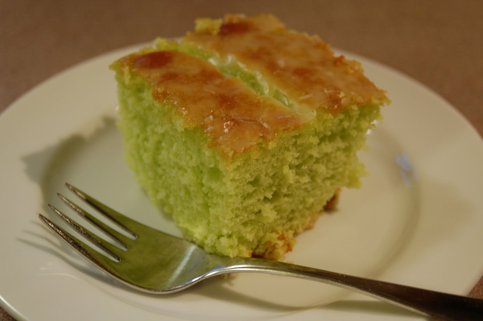 From Lorin's Kitchen: Lemon Pistachio Cake