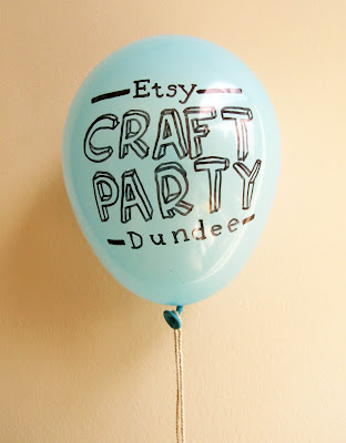 Dundee Etsy Craft Party