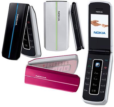 Nokia memperkenalkan koleksi terbarunya untuk ponsel CDMA, yaitu Nokia
