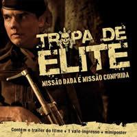 Capa do CD - Tropa de Elite