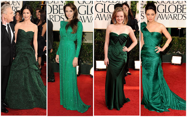 MS. FABULOUS: Top Trends of the Golden Globes Red Carpet :  fashion little black dress angelina jolie red carpet