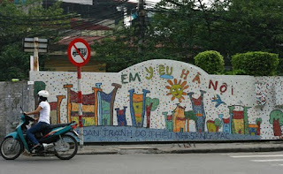Hanoi ceramic way - the culture road of Thang Long- Hanoi 1000 year old
