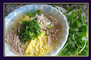 Thang noodles( B�n Thang H� N?i ) -  Famous vietnamese food