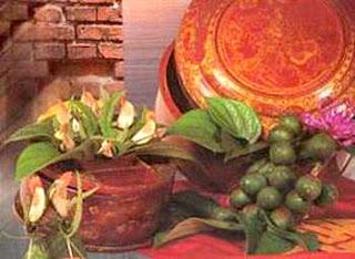Eat Betel and areca in vietnam culture