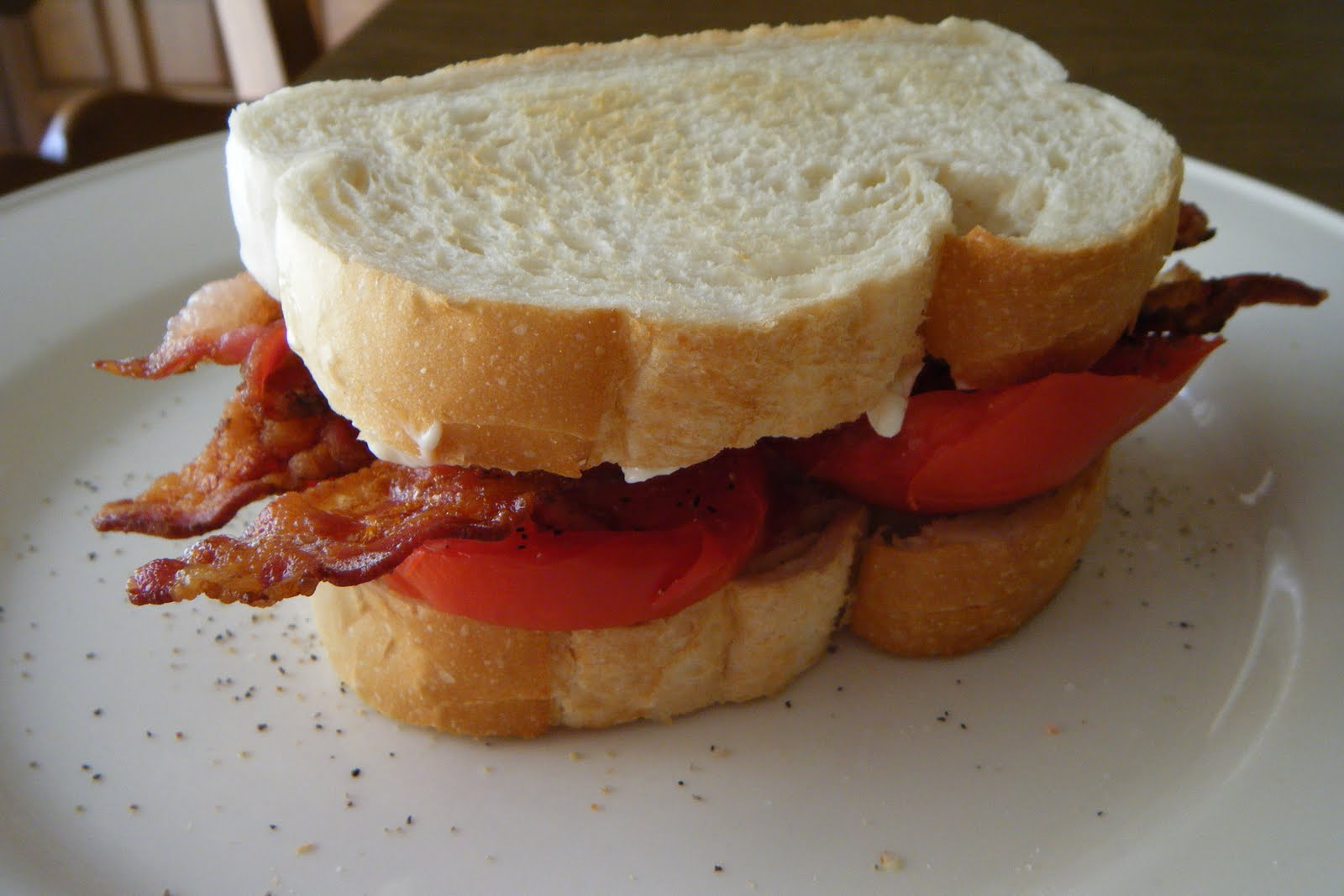 Tomato and mayonnaise sandwiches are best sandwich ...