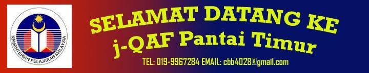 Blog j-QAF Pantai Timur