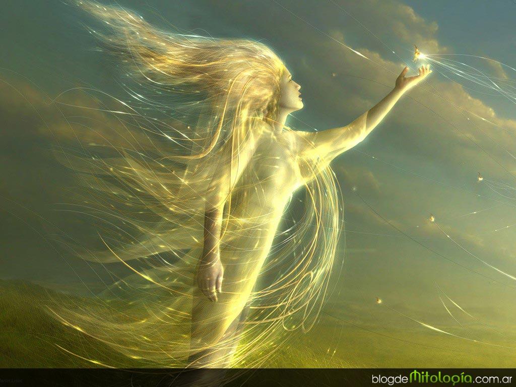 llama viento: