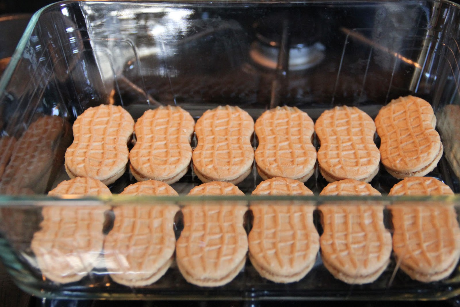 Nutter Butter Cookies with Milk