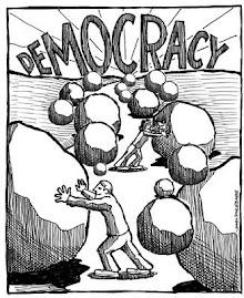 الديموقراطية، إلى أين؟