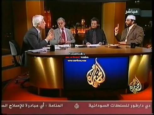 المؤلف في برنامج أكثر من رأي على قناة الجزيرة: النسخة المكتوبة