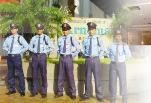 Security of Arnoma Hotel Bangkok